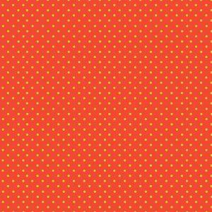 Tissu Makower 830-NY orange lemillepatch