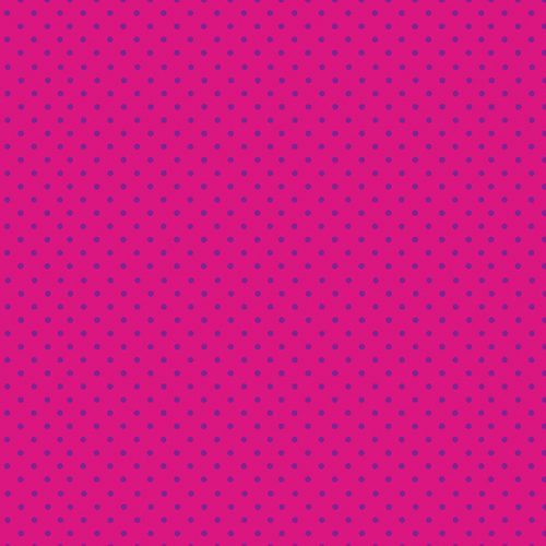Tissu Makower 830-PL rose lemillepatch
