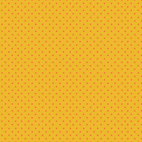 Tissu Makower 830-YN jaune lemillepatch