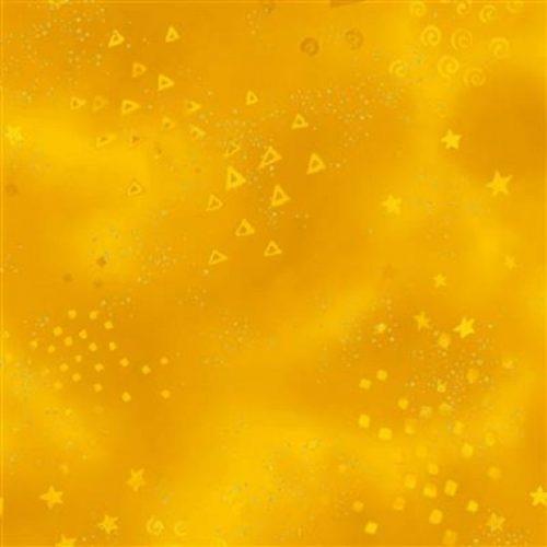 Tissu Clothworks Y0808-10M jaune lemillepatch