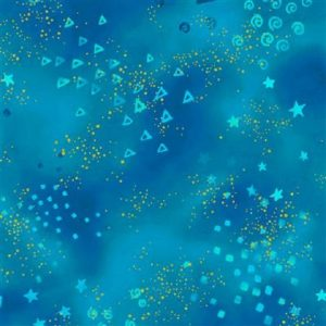 Tissu Clothworks Y0808-34M bleu lemillepatch