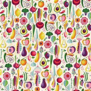 Tissu Clothworks Y 3193-2 écru lemillepatch
