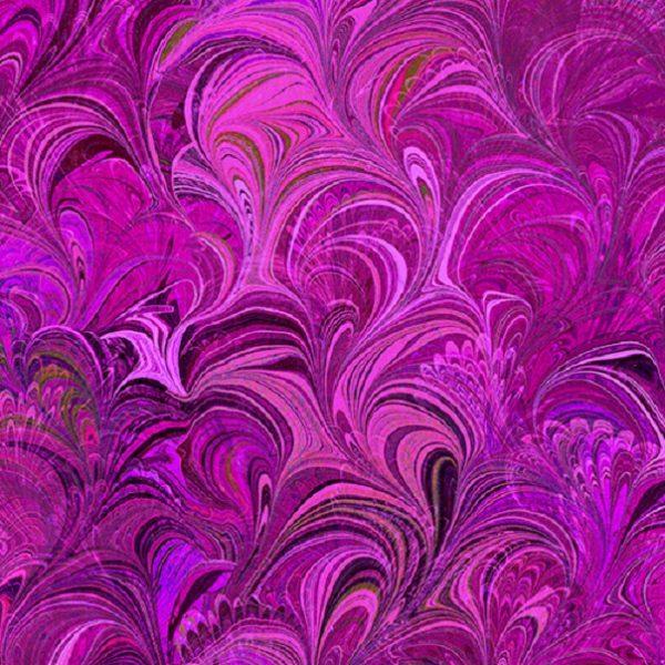 Tissu Benartex 12355-26 violet lemillepatch