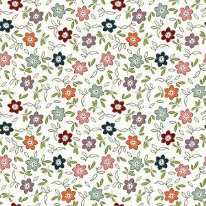 Tissu EQP Fabrics 210-101 blanc lemillepatch