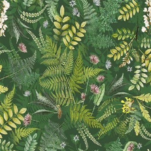 Tissu Clothworks Y3240-112 vert lemillepatch
