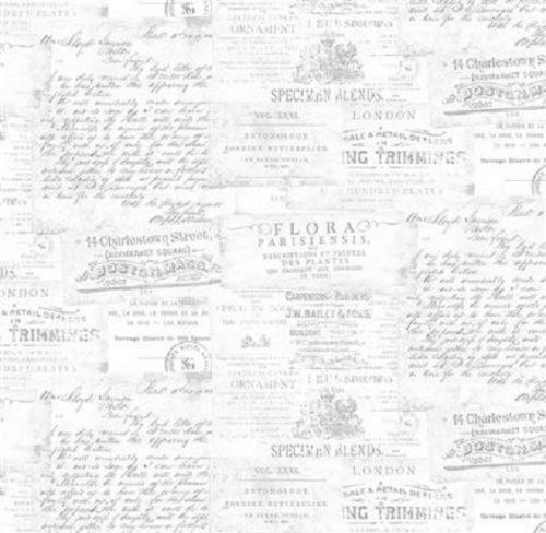 Tissu Clothworks Y3243-116 blanc lemillepatch