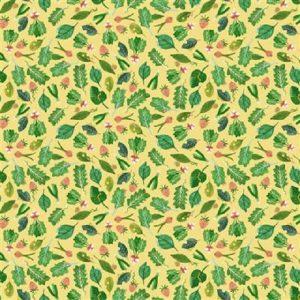 Tissu Clothworks Y3254-9 beige lemillepatch